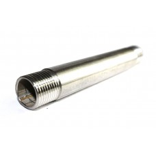"SS Barrel Pipe Nipple Round Heavy Duty Stainless Steel 304 (LENGTH:300mm 12"" Long)"