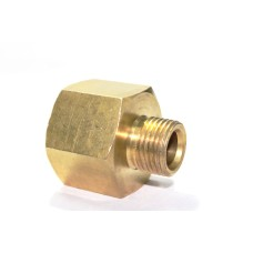 Brass Reducing Adapter Hex Male/Female