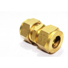 Brass Equal Union Olive Couplings Straight Compression Ferrule Fitting