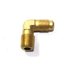 Brass Flare Elbow NPT Male Connector 90* Bend Compression Fittings.