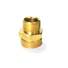 Brass Reducing Nipple Hex Adapter Male Connector Compression Fittings.