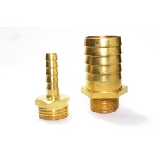 Brass Hose Nipple Hex Adapter Male Thraed