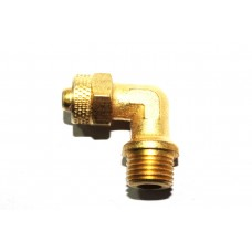 Brass Pu Elbow Male Pneumatic