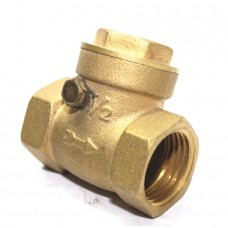 Brass Non Return Valve Horizontal (NRV) Check Valve Flap Type