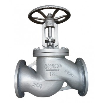 CS Cast Steel Globe Valve Flange End SS Parts PN 40 (Wj-Neta)
