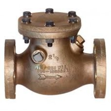 GM NRV Steam Check Valve/Non Return Valve Horizontal Lift Screwed Bolted SS Working Part Heavy (WJ-Neta)