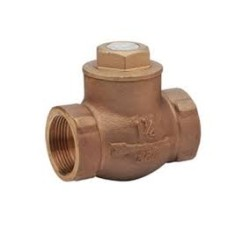 Gm Horizontal Steam Check Valves Screwed (Sant) (21 Kg/Cm2)