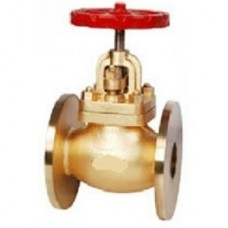 GM Globe Steam Stop Valve Yoke Type Flanged Temp-220°C (WJ-Neta)