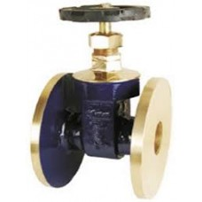 GM Gate Valves Steam Forged Gun Metal Flanged SS Parts Rising Stem (Sant)