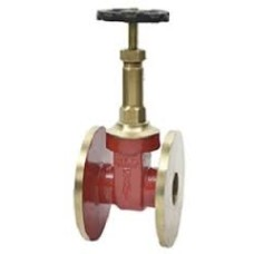 Gm Union Bonnet Globe Valve Rising Stem SS Working Part Flange End (Sant)