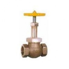GM Gate Valve Forged Gun Metal Screwed Rising Stem ISI Marked (RMW)