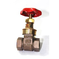 GM Gate Valve Forged Gun Metal Screwed ISI Marked