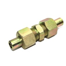 MS Weldable Equal Union Couplings Hydraulic Straight With Weldable B Nipple