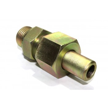 MS Weldable Male Stud Couplin Parallel Hydraulic Connector With Welding B Nipple