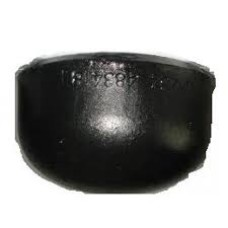MS Weldable Forged Dead Cap ERW Commercial Quality Buttweld