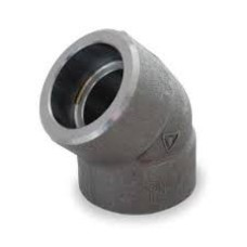 MS Socket Weld Carbon Steel Elbow 45° 3000 PSI As Per ANSI B-16.11