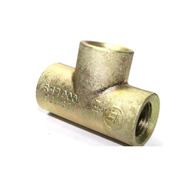 MS Tee Female Connector Heavy Duty Forged Type