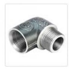 MS Elbow Male/Female Connector Heavy Duty Forged Type 90* Bend