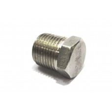 MS Plug NPT Adapter Hex Male End Forged