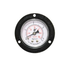 "Pressure Gauge Back Connection Panel Mounting 1/4 BSP (65MM / 21/2"" Dial)"