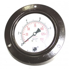 "Pressure Gauge Back Connection Panel Mounting  3/8 BSP (100MM / 4"" Dial)"