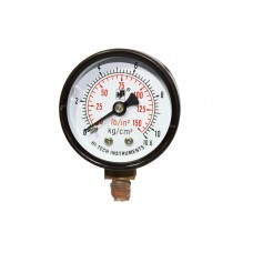 "Pressure Gauge Bottom Connection  1/4 BSP (65MM / 21/2"" Dial)"