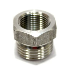 SS Bushing Hex Adapter Male/Female Heavy Stainless Steel 316.