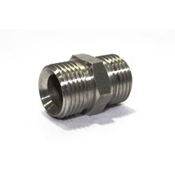 SS Double Nipple Hex Adapter Male 150#LB Heavy Duty Stainless Steel 316.