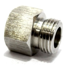 SS Adapter Equal  Hex Male/Female Commercial Stainless Steel 202.