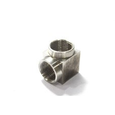 SS Elbow Solid Body Female Thread Stainless Steel 304
