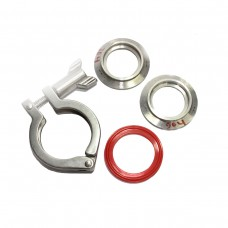 SS TC Clamp Full Set Stainless Steel 304 Pipe Size:O.D