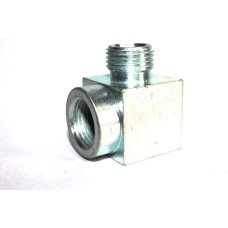 MS Elbow Hydraulic Adapter Equal Male/Female Thread.
