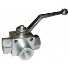 Hydraulic Ball Valve Three  Way L Type Ported (5000PSI)