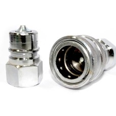 Hydraulic QRC Quick Release Coupling With Check Valve (1500 PSI)