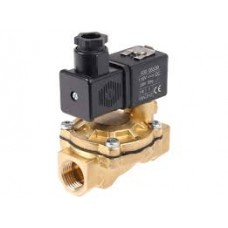 Brass Solenoid Valve Servo Operated 2/2