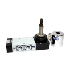 Solenoid Valve Pneumatic Single Round Coil Heavy Duty