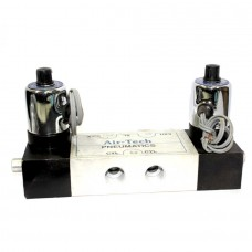 Solenoid Valve Pneumatic Double Round Coil Heavy Duty