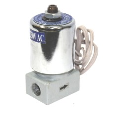 Solenoid Valve Pneumatic Single Round Coil Direct Acting Aluminum Body