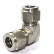 SS Elbow Union Equal Connector Compression Double Ferrule OD Fitting Stainless Steel 304.