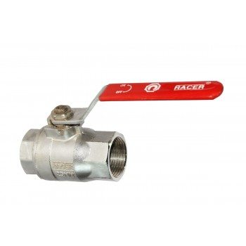 SS Ball Valve IC (RACER) Forged Investment Casting CF 8M Screwed Stainless Steel 316. (ISO MARKED)
