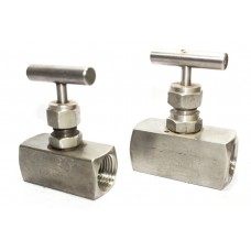 SS Needle Valve High Pressure Square Body NPT Thread (6000PSI) Stainless Steel 316