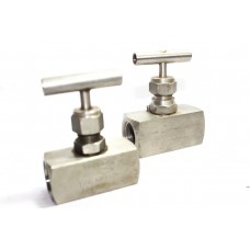 SS Needle Valve High Pressure Square Body NPT Thread (3000PSI) Stainless Steel 304