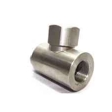SS NRV Non Return Valve Round Horizontal Check Valve