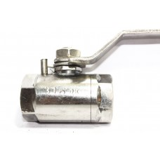 SS Ball Valve Round Solid Body Heavy Duty Stainless Steel 304
