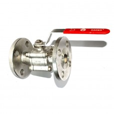 SS Ball Valve Flanged End  IC Forged Investment Casting Three Piece CF 8 Stainless Steel 304.