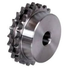 "Duplex Chain Sprocket Wheel 3/8"" Double"