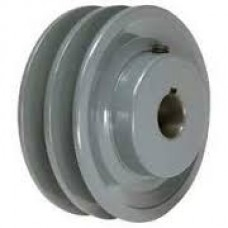 CI V Belt Pulley Fix Bore A Section Double Groove II
